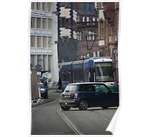 Strassenbahn Poster