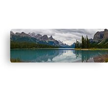 Approaching Storm, Maligne Lake Canvas Print