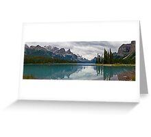 Approaching Storm, Maligne Lake Greeting Card
