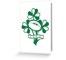 Ireland Rugby Union Greeting Card