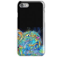 Abstract Cat art iPhone Case/Skin