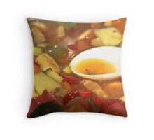 Juicy Fruit Throw Pillow