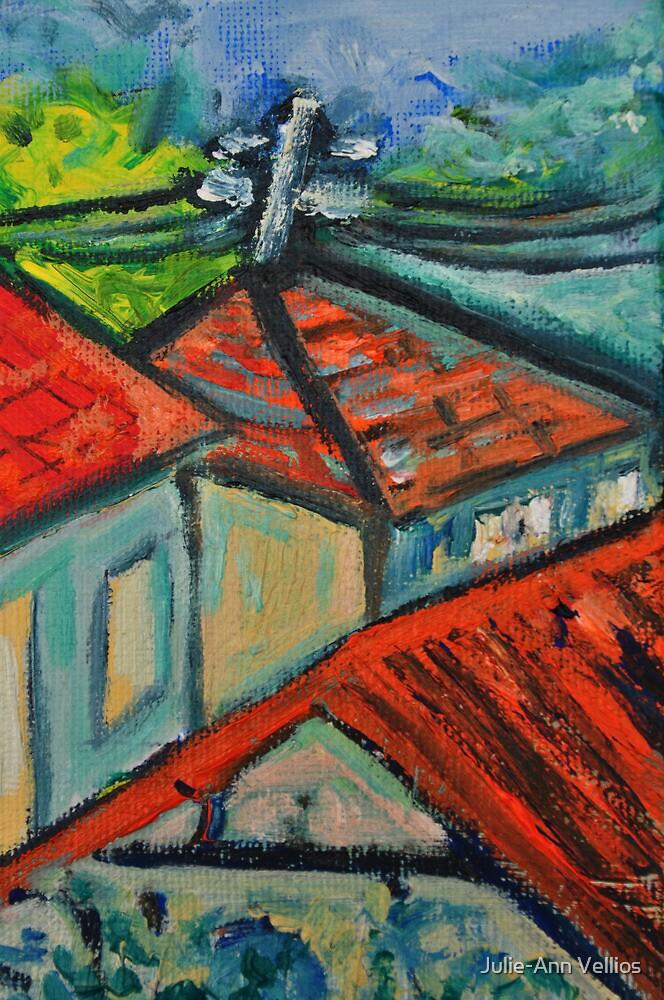 Our Neighbourhood 2 by Julie-Ann Vellios