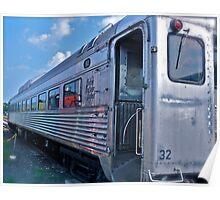 Budd Rail Diesel Car - New York - New Haven & Hartford RR Poster