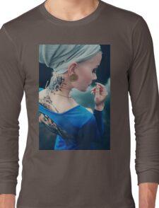 Tattoo Women - Portrait Long Sleeve T-Shirt