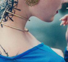 Tattoo Women - Portrait Sticker