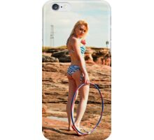 Hula Girl #2 iPhone Case/Skin