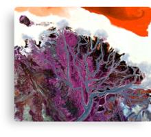 """Winter Estuary""  Canvas Print"