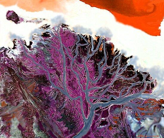 """Winter Estuary""  by Patrice Baldwin"