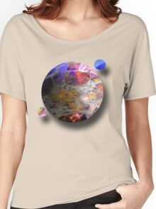 Oil slick Planets Women's Relaxed Fit T-Shirt