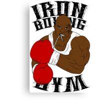 Iron Boxing Gym Canvas Print