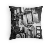 Welsh Hardware Shop  Throw Pillow