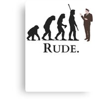 Cannibal - Evolution - RUDE Canvas Print