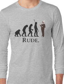 Cannibal - Evolution - RUDE Long Sleeve T-Shirt