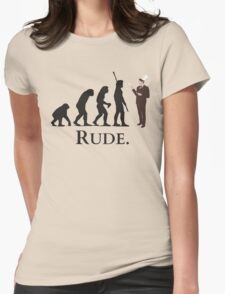 Cannibal - Evolution - RUDE Womens Fitted T-Shirt