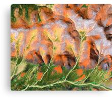 """Golden Trees""  Canvas Print"