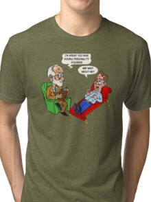 Freud - Double personality Tri-blend T-Shirt