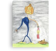 happy halloween Canvas Print