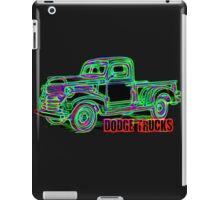 Dodge Trucks iPad Case/Skin