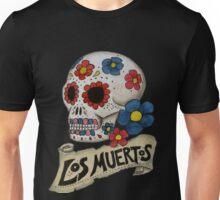 Los Muertos Skull Unisex T-Shirt