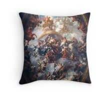 Painted Hall Throw Pillow