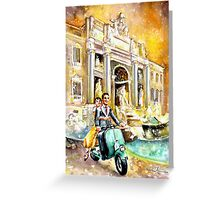 Rome Authentic Greeting Card