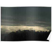 Foreboding Skies Poster