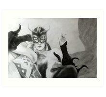 Madam Satan Art Print