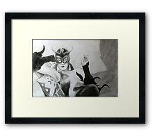 Madam Satan Framed Print