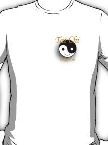 Tai Chi. Small Gold Shadow T-Shirt