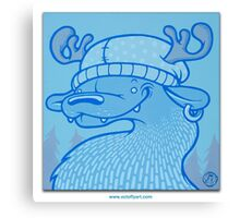 Blue Hairpin Canvas Print
