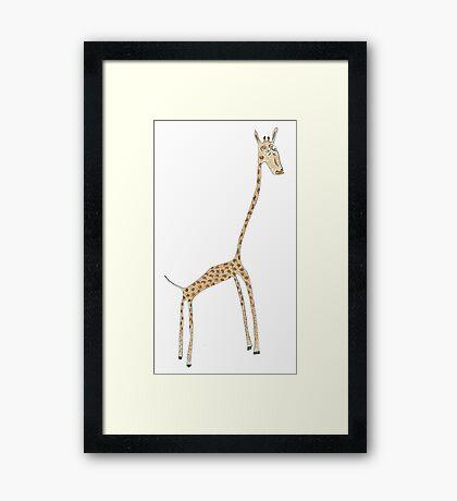 skinny Framed Print
