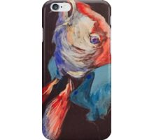 Fish in a linen shirt iPhone Case/Skin