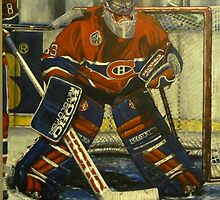 The Gatekeeper #33 - Patrick Roy by Jonny  McKinnon