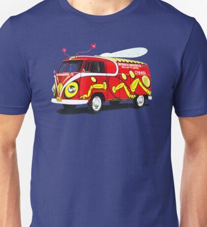 Custom VW Pest Control Camper Unisex T-Shirt