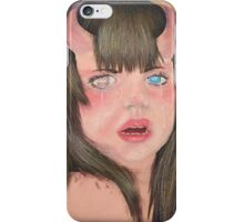 Little monster girl  iPhone Case/Skin