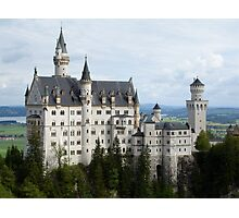 Neuschwanstein Castle in Southern Germany Photographic Print