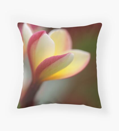 embracing the day Throw Pillow