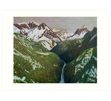 Everest view Art Print
