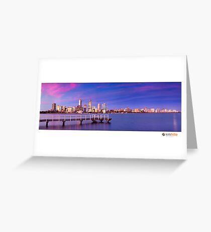 Perth City  Greeting Card