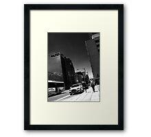 Currie St Framed Print