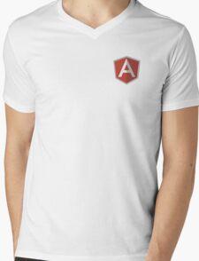 angularjs Mens V-Neck T-Shirt
