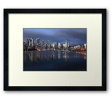 The Commute Framed Print