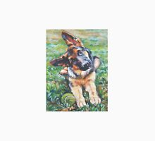 German Shepherd Fine Art Painting T-Shirt