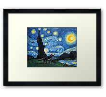 Starry Tasmanian night Framed Print