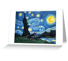 Starry Tasmanian night Greeting Card