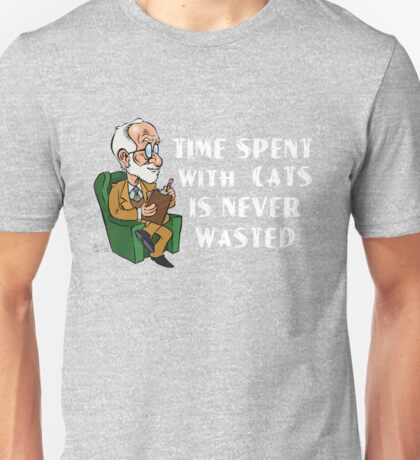 Freud about Cats  Unisex T-Shirt