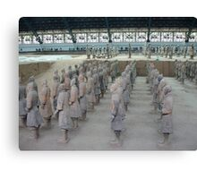 Xian Terracotta Soldiers Canvas Print