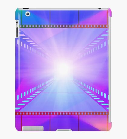 cinema movie projector and film iPad Case/Skin