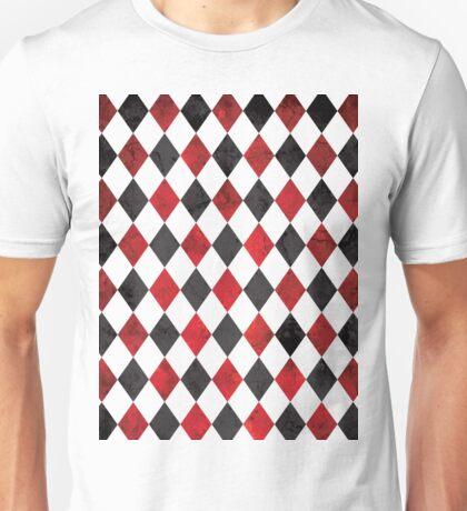 Halloween Harlequin Diamonds Unisex T-Shirt